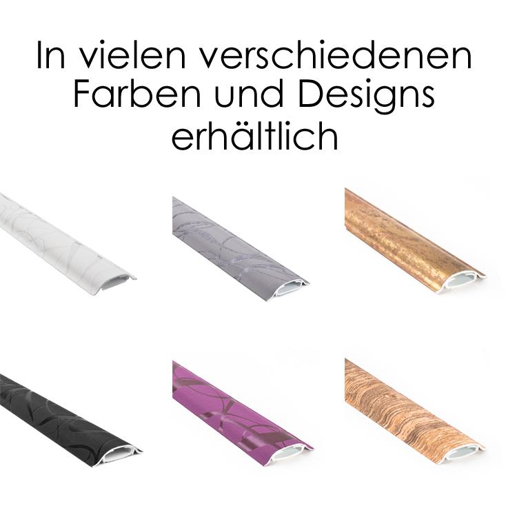 design kabelkanal walldecor 3d relief design schwarz. Black Bedroom Furniture Sets. Home Design Ideas